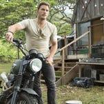 """Chris Pratt in """"Jurassic World."""""""