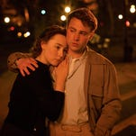"""Saoirse Ronan, left, as Eilis Lacey and Emory Cohen as Tony Fiorello in """"Brooklyn."""""""