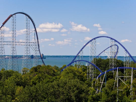 The evolution of Cedar Point was discussed Wednesday by former CEO Dick Kinzel, who led the amusement park company during growth years of 1986 to 2007.