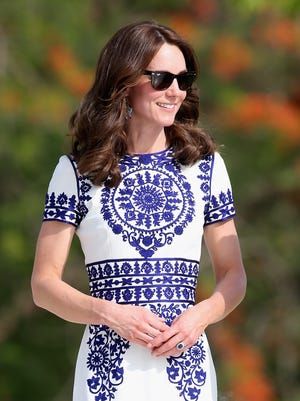 And we're sure whatever Kate wears in that British 'Vogue' photo shoot will sell out like everything else she's seen in.