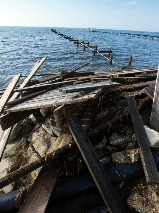 Pier and Dock Damage