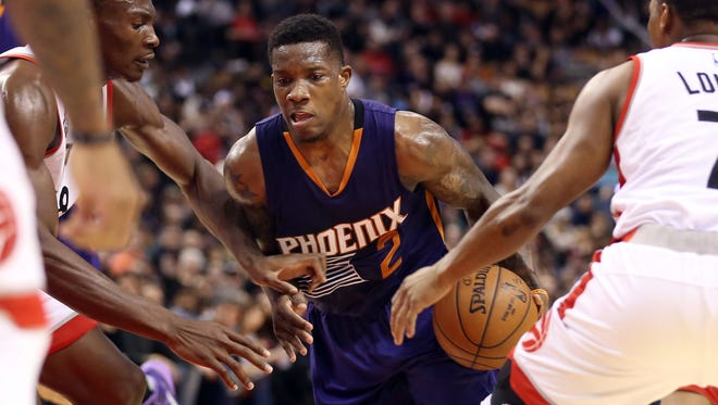 Eric Bledsoe had a team-high 20 points and 11 assists for the Suns.