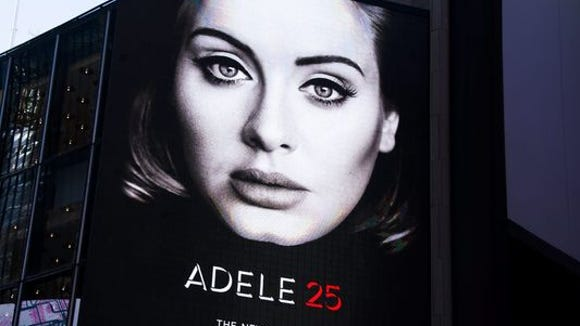 The power of global superstar Adele, and her hit single
