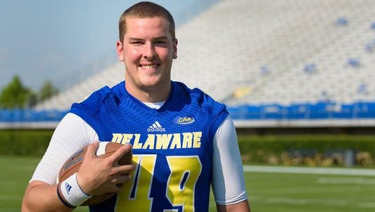 Delaware punter Eric Enderson, who has graduated, has decided not use his final season of eligibility in 2016 and see if he can make it in the NFL.