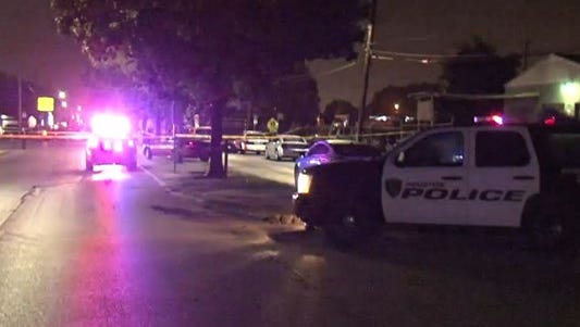 An officer-involved shooting left one man dead early Saturday morning in southeast Houston.