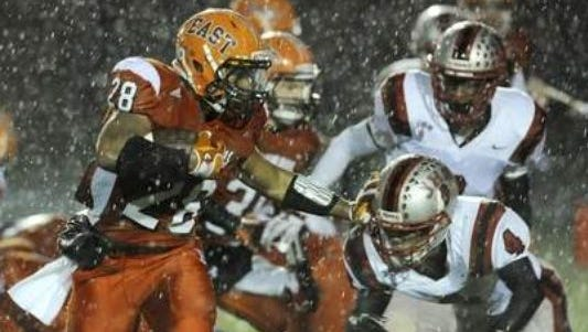 Markell Jones could break state's all-time rushing record.