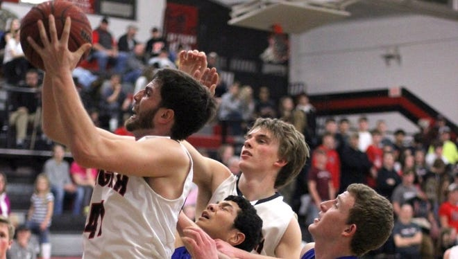 Thomas Tatham and the Pisgah boys are scheduled to host defending state champion Morganton Freedom in the first round of the NCHSAA 3-A basketball playoffs.
