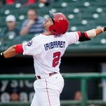 Bats collect 17 hits in win at Indianapolis