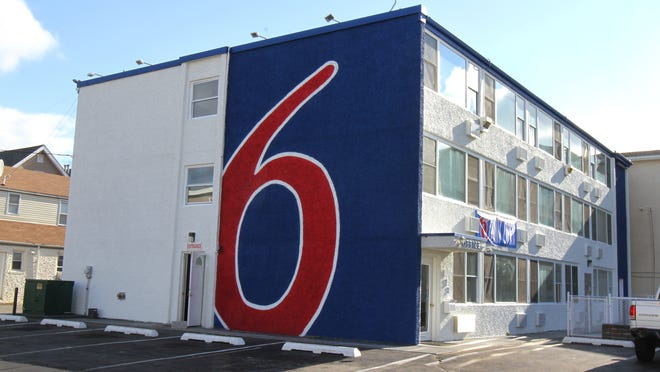 This Carteret Avenue hotel in Seaside Heights reopened under the Motel 6 name last September.