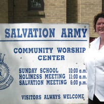 Lt. Annie Buckles of the Bucyrus Salvation Army.