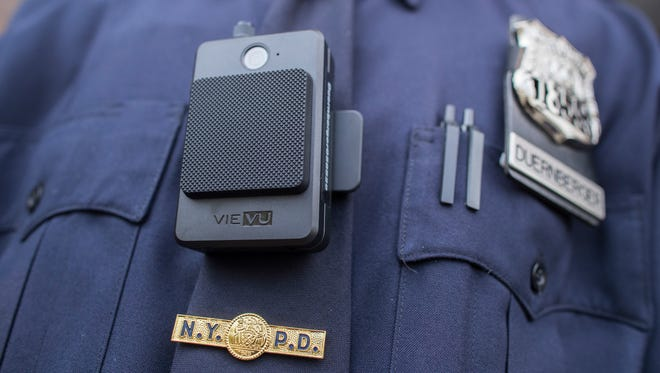 "Gov. Brian Sandoval recently signed into law Senate Bill 176, which mandates body-worn cameras for all law-enforcement officers who ""routinely interact with the public."" Here's what such a camera looks like."