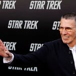 epa04640410 (FILE) A file picture dated 30 April 2009 shows US actor Leonard Nimoy arriving at the premiere of 'Star Trek' in Hollywood, California, USA. According to reports, Nimoy died on 27 February 2015 aged 83 in Los Angeles, USA. EPA/NINA PROMMER