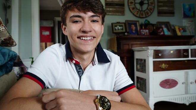 "Luke Youssef, 16, of Hampton Falls, is a contestant on the new HBO Max series ""Karma,"" where teens compete in an off the grid adventure in physical challenges and puzzle solving."