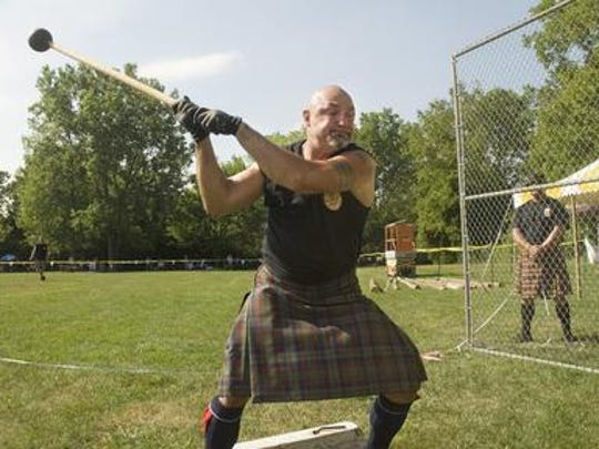 The Highland Games are held in Livonia.
