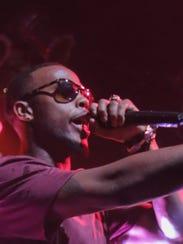 Rapper B.o.B. returns to Vinyl Music Hall on Friday.