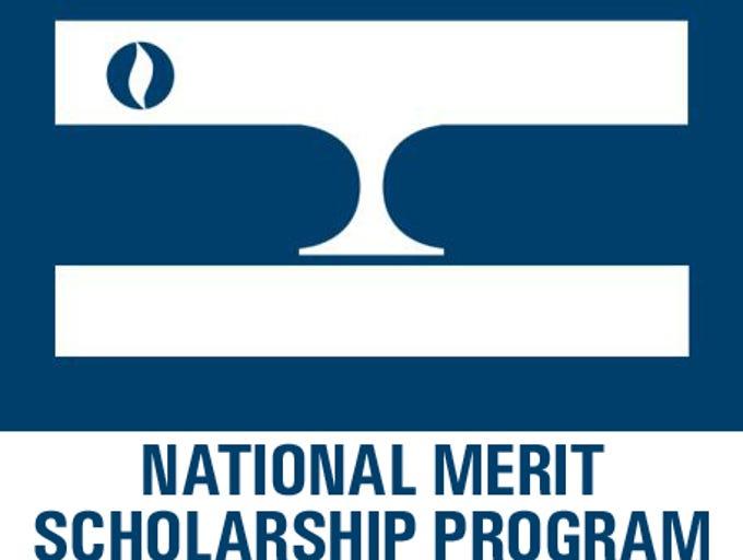 National Merit Scholarship program's 'Lamp of Learning.'