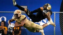 """Amid the craziness,  ASU senior safety Chad Adams stays """"cool, calm and collected."""""""