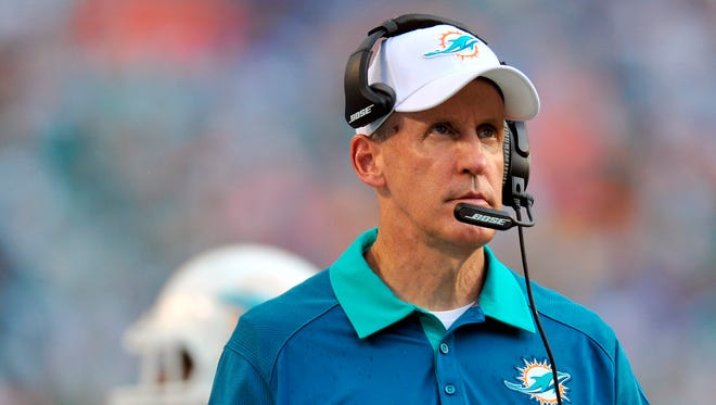 The Indianapolis Colts on Friday signed former Dolphins head coach Joe Philbin to coach their offensive line.