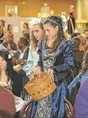 Next weekend, Parker Middle School will once again present its Madrigal Dinner.