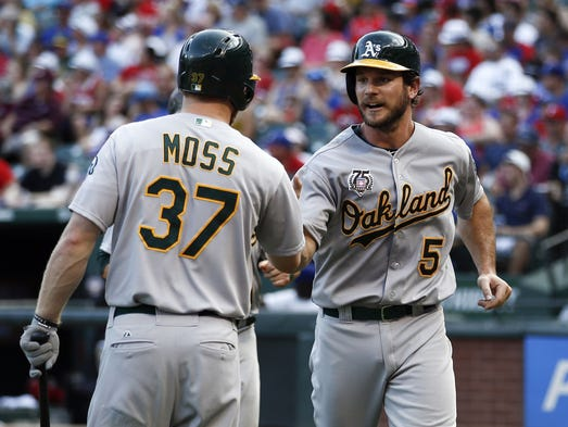 USA TODAY Sports unveils its latest MLB Power Rankings and Oakland remains No. 1. Which teams pose the greatest threat to the Athletics? Did the D-Backs lose any ground after a tough trip to Philadelphia? Records through July 27, 2014. Previous ranking in parenthesis.