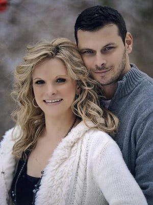 Sarah Jennings and Curtis Folk