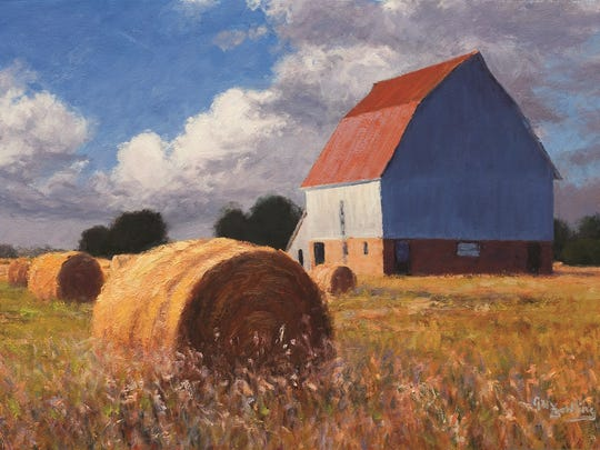 Missouri artist Gary Bowling's paintings have ended up in the coporate collections of AT&T, McDonald's and Meredith, plus a new show that opens Friday at Olson-Larsen Galleries, just in time for Valley Junction's 20th annual Spring Gallery Night.
