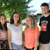 A Richfield girl with a heart condition has a wish to ride a train in her backyard. Four Hamilton students are helping to make that happen.
