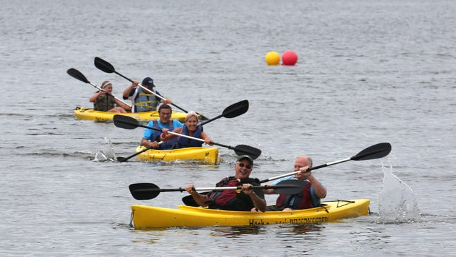 In 2015, Suez NY started Lake DeForest Day, featuring the Rockland Supervisors Challenge. The event is a fundraiser for the Hackensack Riverkeeper.