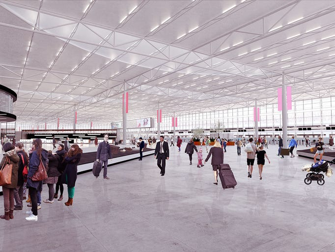 Pittsburgh airport plans $1 billion renovation project