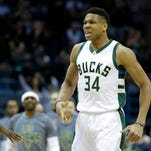 Antetokounmpo leads Bucks to 104-93 win over Knicks