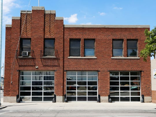 The fire station at 331 S. Santa Fe St. was designed