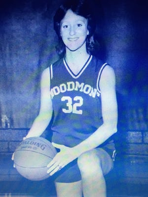 Lynda Crawford Gilliam, a member of Woodmont's Hall of Fame Class of 2017, played basketball and volleyball for five years each and played softball and ran track for two years apiece before moving on to play basketball at Furman.