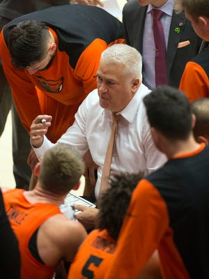 Oregon State men's basketball coach has a 57-70 record with one NCAA Tournament appearance in four seasons in Corvallis.