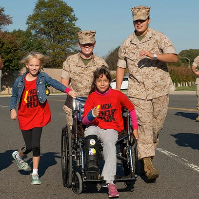 More than 3,000 children participated in the Marine Corps Marathon Kids Run on Oct. 25 at the Pentagon in Arlington, Va. Marine Corps Marathon organizers have announced a number of events related to the 26.2-mile race in 2015, including the Kids Run scheduled for Oct. 24.