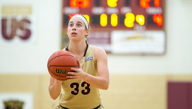 Northern Lebanon grad Zoe Zerman set a new Kutztown freshman scoring record after pumping in 36 points in a win over Shippensburg earlier this week.