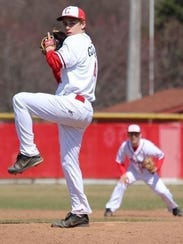 One of Canton's top returning pitchers is Greg Goodbred,