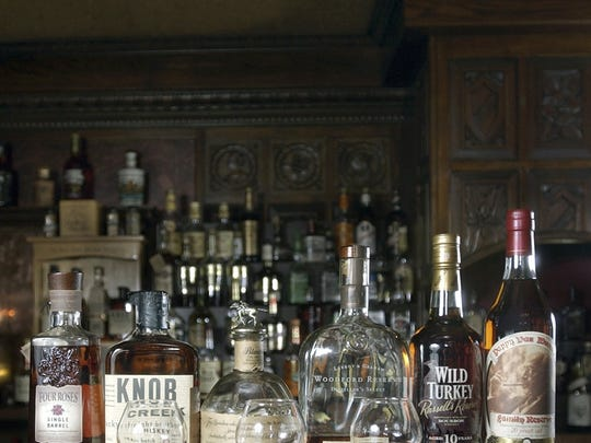 Bourbon selection.