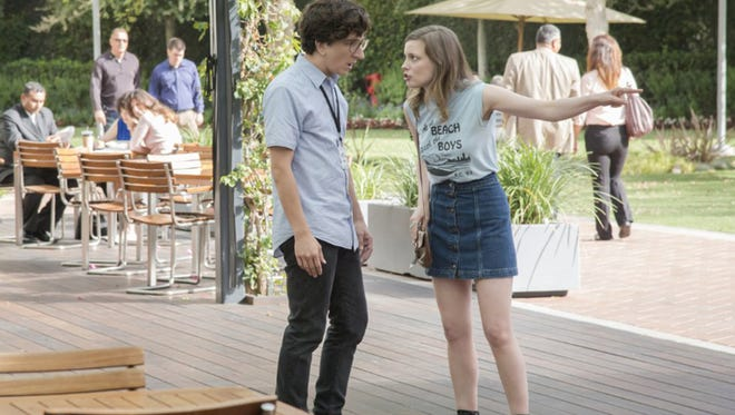 """Paul Rust and Gillian Jacobs in """"Love."""" (Netflix)"""
