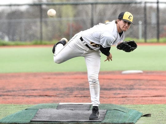File photo - Jacob Gilbreath of Enterprise pitches in March 2017 in the River City Classic against Foothill.