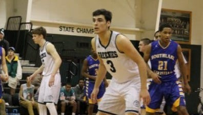 Christ School senior Zach Reeves has committed to play college basketball for Lindsey Wilson (Ky.).