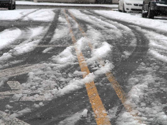 Winter Storm - Snow Arrives