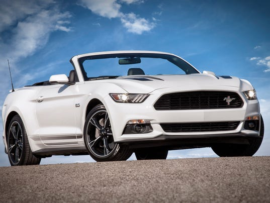 California Special And Pony Packages New For 2016 Ford Mustang