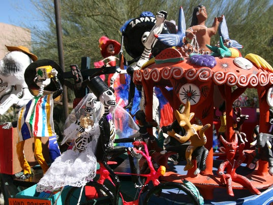 Dia de los Muertos at Desert Botanical Garden