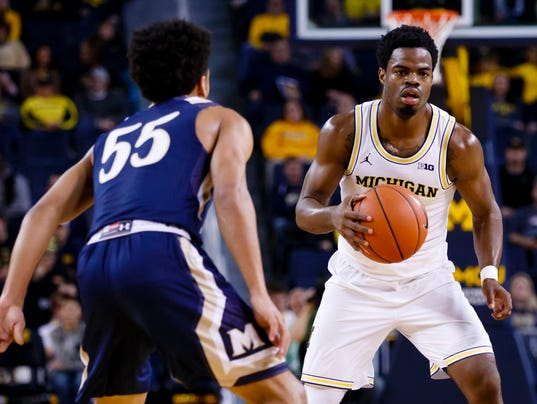 NCAA Basketball: Mount St. Mary's at Michigan