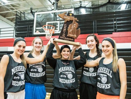 Marshall Girls Basketball 5