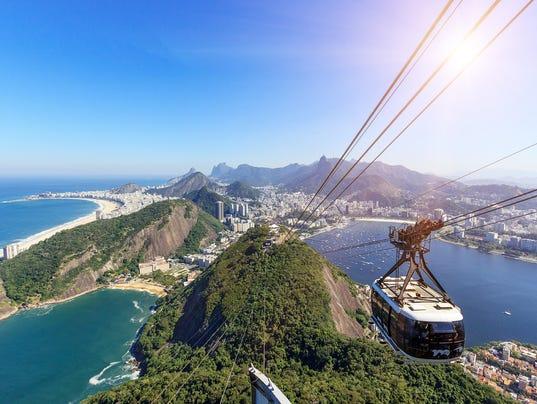 """Rio de Janeiro - View from Sugarloaf Mountain"""