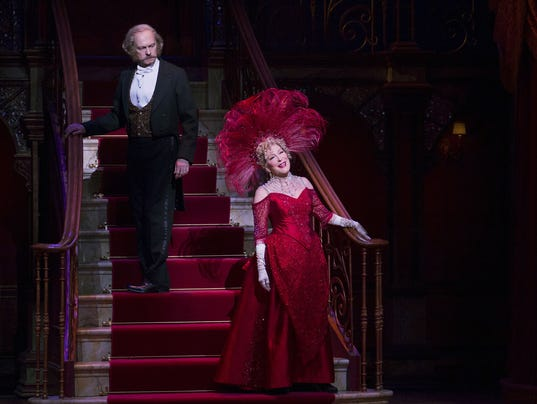 AP TONY NOMINATIONS A ENT USA NY