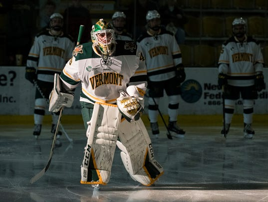 Colorado College vs. Vermont Men's Hockey 10/06/17