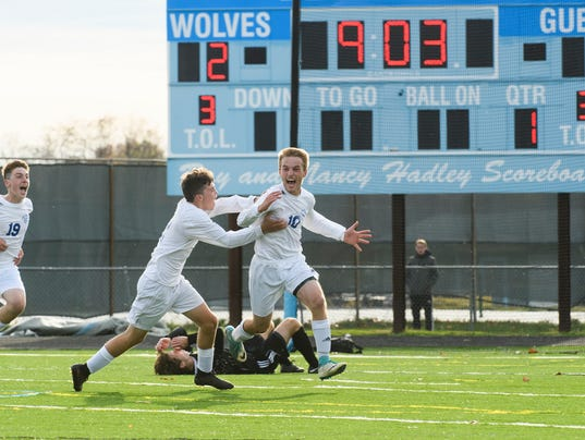 DII Boys Soccer Championship - Harwood vs. Lake Region 11/4/17