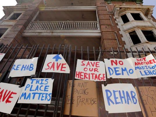 Cass Corridor preservation fight